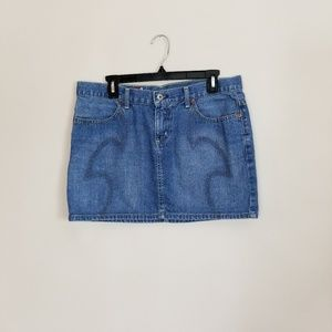 Guess? Blue jean mini skirt 31